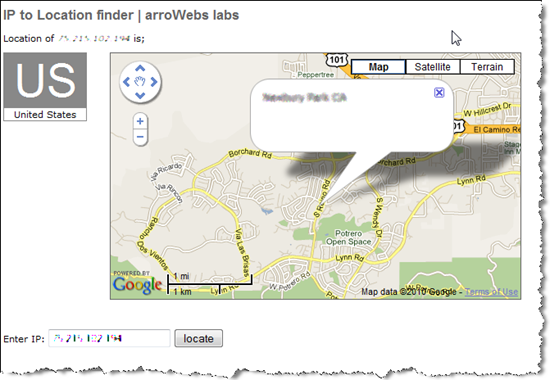 ip2location | arroWebs labs