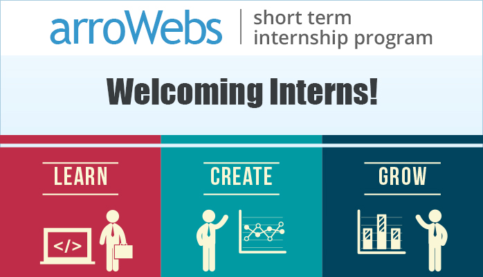 Interns Invited for Short Term Internship Program at arroWebs