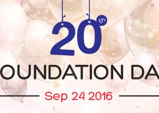 arroWebs celebrated its 20th Foundation Day with loads of fun and enthusiasm