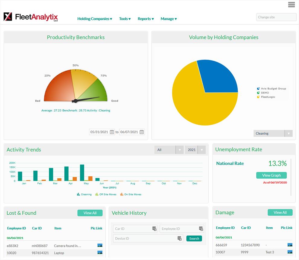 FleetLogix - Web Portal